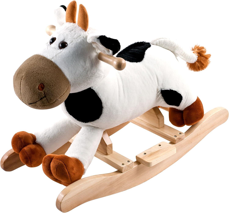 Happy Trails M370026 Plush Rocking Connie Cow Ride On