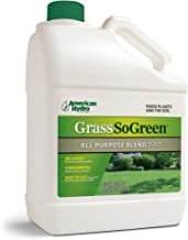 Grass So Green 7-7-7 F4G Formula is an Environmentally-Friendly Liquid Fertilizer that is Applied Through an American Hydro Systems Feeder System in Continuous, Small Doses.