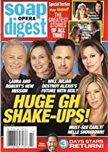 Soap Opera Digest Magazine April 6 2020 Tristan Rogers Genie Francis William deVry Nancy Lee Grahn Laura Wright General Hospital The Greatest Stories of All Time!