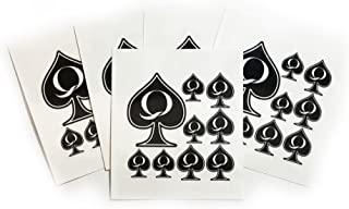 Best temporary queen of spades tattoo Reviews