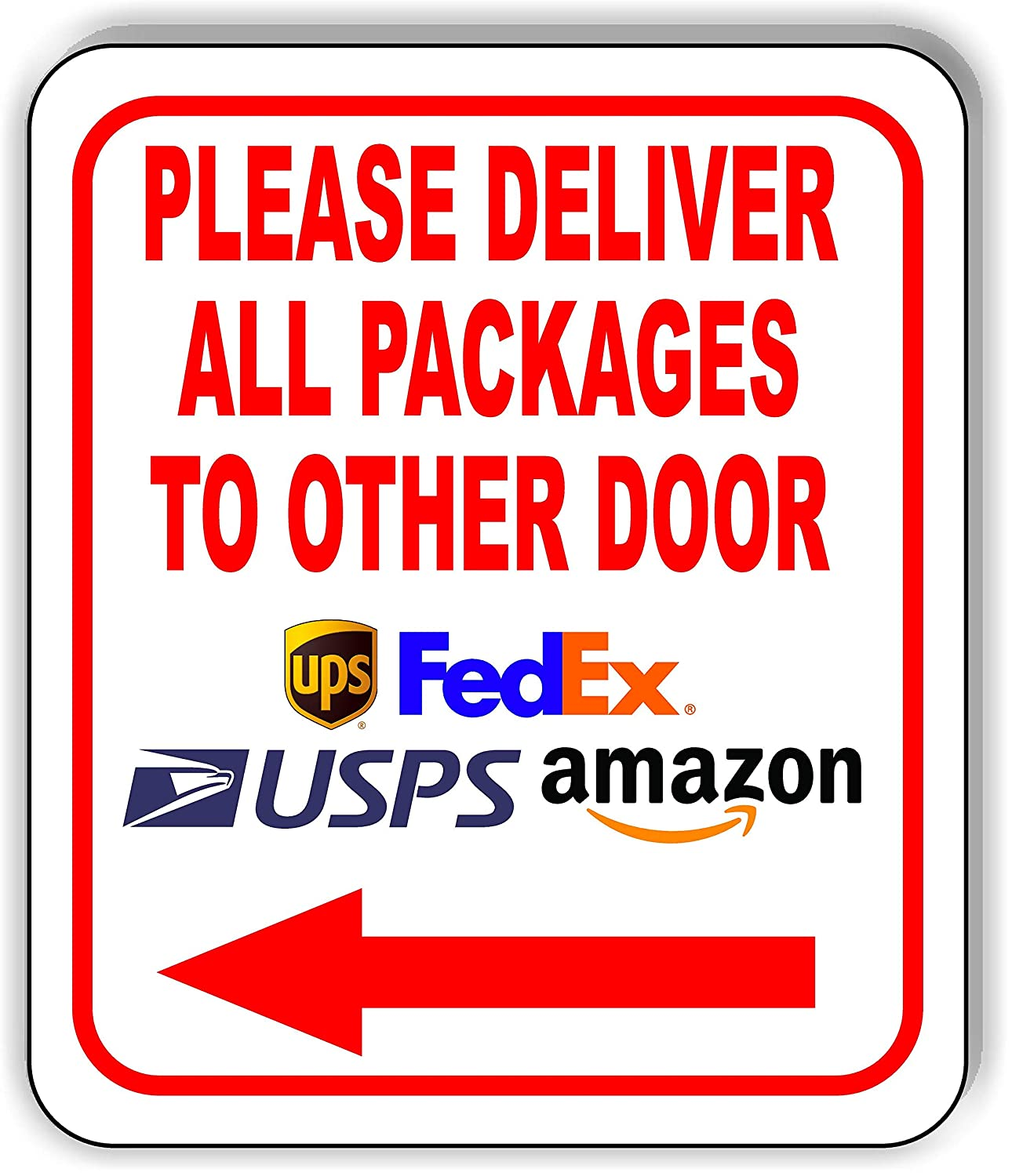 Please Deliver All Packages to Other Door Left Co Aluminum Arrow Ranking TOP6 Free Shipping Cheap Bargain Gift