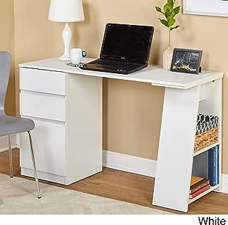 Best simple living como modern writing desk white Reviews