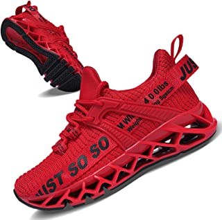 Vivay Kids Girls Shoes Boys Just So So Running Shoes Breathable Lace up Walking Sneakers for Little Kid Big Kid