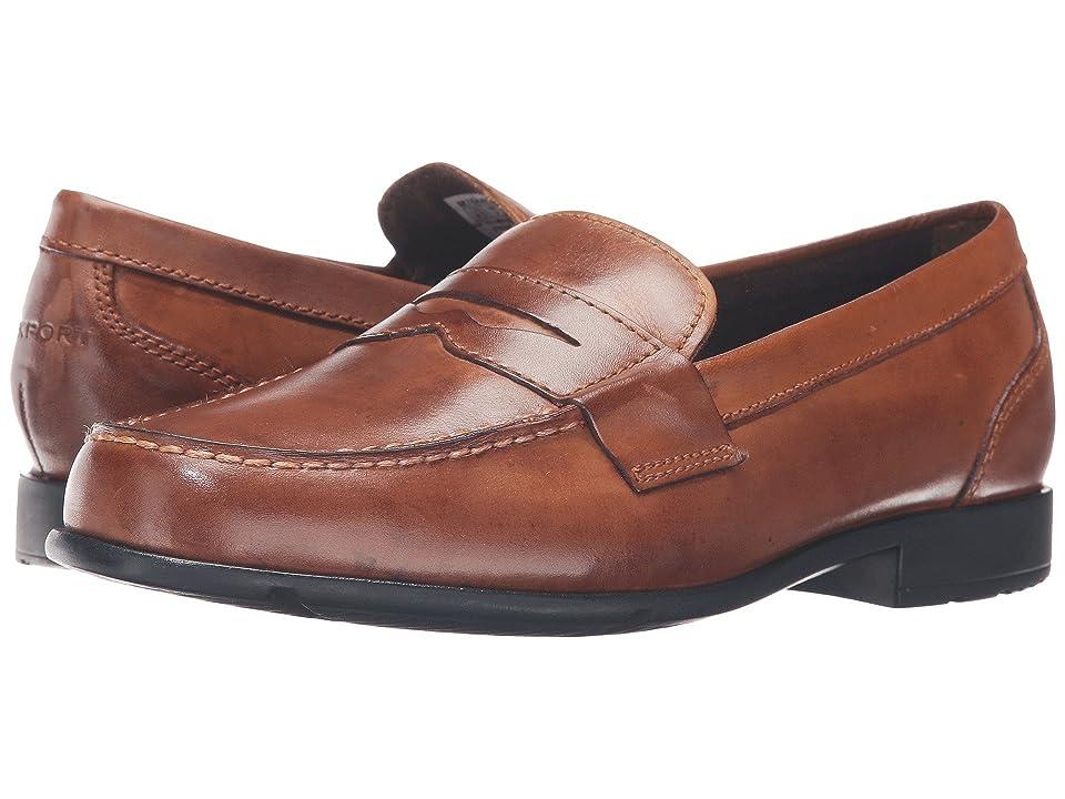 Rockport Classic Loafer Lite Penny (Cognac) Men