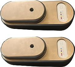 GateLock Van Diefstal Bescherming Beveiliging Hangslot voor Bedrijfsvoertuigen Bestelwagens met een Midden GVM g4mb2 met D...