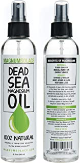 dead sea magnesium oil benefits