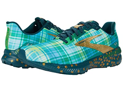 Brooks Launch GTS 8 (Fern Green/Metallic Gold/Deep) Men