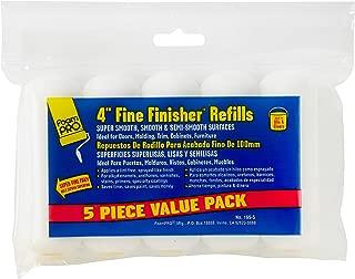 FoamPRO 165-5 Fine Finish Mini Roller Refills (High-Density Foam) (5 Pack), 4
