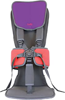 Firefly by Leckey GoTo Postural Support Seat - Lightweight Portable Supportive Seat for Children with Special Needs – Standard Headrest - Purple, Size 2