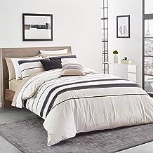 Lacoste Avoriaz Comforter Set, Twin/TwinXL, Taupe