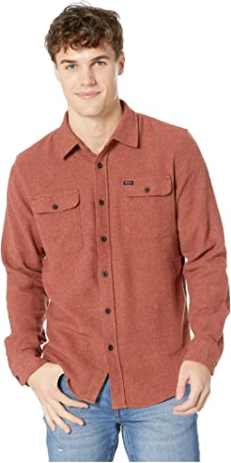 Bowery Solid Long Sleeve Flannel