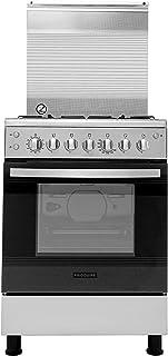 Frigidaire 60 X 60 cm Freestanding Gas Cooker, Stainless Steel - FNGB60JGRS, 1 Year Warranty