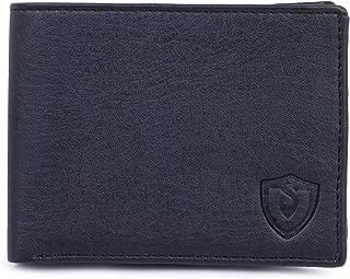 Keviv® Artifical Leather Wallet for Men/Men's Wallet (Black)