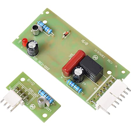 Compatible with 4389102 Icemaker Emitter Sensor Control Board UpStart Components Brand W10757851 Refrigerator Ice Level Control Board Replacement for KitchenAid KSRG22FKBT18 Refrigerator