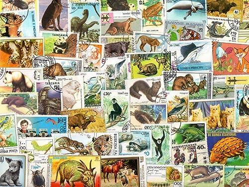 marca de lujo Pghstamps Animales 4000 Colección de Diferentes Diferentes Diferentes Sellos para coleccionistas  disfrutando de sus compras