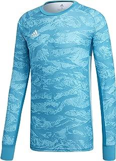 ADIPRO 19 Goalkeeper Jersey Junior GK Shirt Aqua Blue for Soccer Goalkeeping