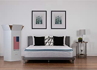 NuForm Quilted Pillow Top 11-inch Plush Foam Mattress Twin