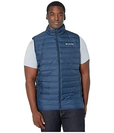 Columbia Big Tall Lake 22tm Down Vest (Collegiate Navy) Men