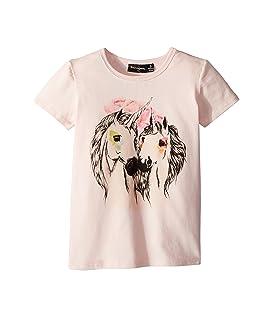 Unicorn Love Short Sleeve Tee (Toddler/Little Kids/Big Kids)