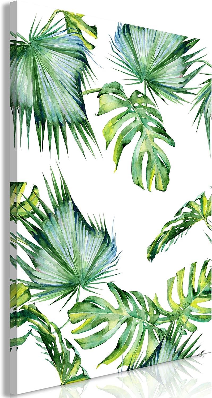 Decomonkey Decomonkey Decomonkey Bilder Monstera Pflanzen 80x120 cm 1 Teilig Leinwandbilder Bild auf Leinwand Vlies Wandbild Kunstdruck Wanddeko Wand Wohnzimmer Wanddekoration Deko Blätter Tropische Palme grün weiß B07H33SFDC 0d6d33