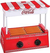 Nostalgia HDR8CK Coca-Cola Hot Dog Warmer 8 Regular Sized, 4 Foot Long and 6 Bun..