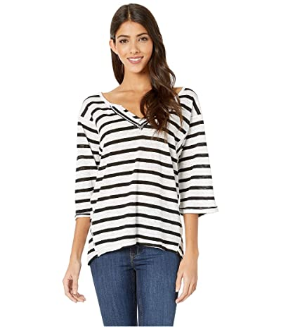 Free People Head in the Clouds Stripe (Ivory Combo) Women