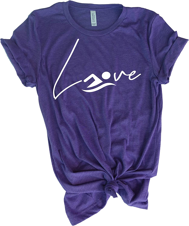 Special price SwimmingTee Shirt - Love Swimming Girls for discount Gift Teen t-Shirt