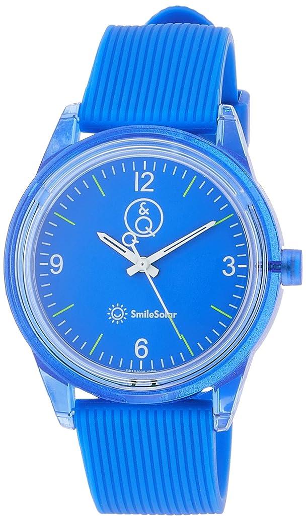ボクシング手順悔い改める[シチズン Q&Q] 腕時計 アナログ スマイルソーラー 防水 ウレタンベルト RP10-008 メンズ ブルー