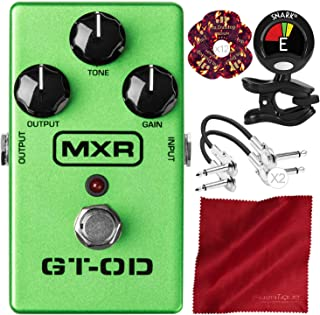 Dunlop MXR GT-OD Overdrive M193 with Clip-On Tuner and Deluxe Bundle