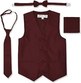burgundy vest boys