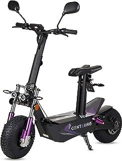 ECOXTREM Centauro - Patinete eléctrico con sillín, Motor