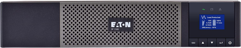 EATON 5P RACK/TOWER UPS. 1440 VA / 1440W, 2U, 120V, 5-15P INPUT, (8) 5-15R OUTPU