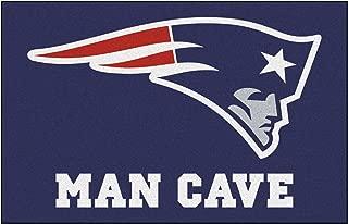 FANMATS 14333 NFL New England Patriots Nylon Universal Man Cave Starter Rug