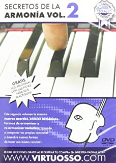 Virtuosso Harmony Method for Musical Keyboard Vol.2 (Curso De Armonía En Teclado Vol
