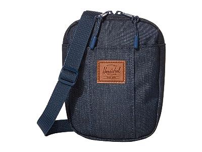 Herschel Supply Co. Cruz (Indigo Denim Crosshatch) Bags