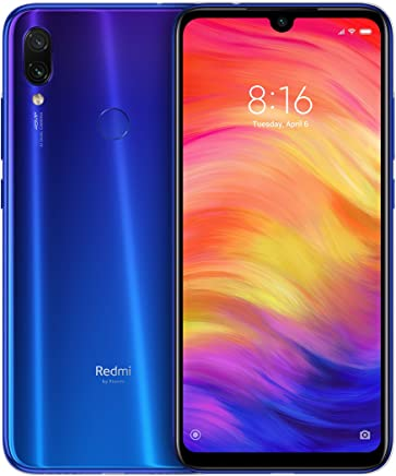Xiaomi Redmi Note 7, 32GB/3GB RAM, 6.30'' FHD+, Snapdragon 660,Unlocked Global Version - Blue