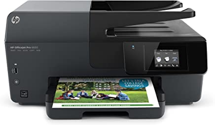 $219 Get HP OfficeJet Pro 6830 Wireless All-in-One Photo Printer with Mobile Printing, HP Instant Ink & Amazon Dash Replenishment ready (E3E02A) (Renewed)