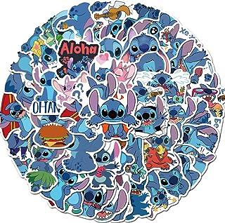 "50PCS Cartoons Stickers Pack Lilo /& Stitch No Repeat Laptop Phone Ornament 2/"""