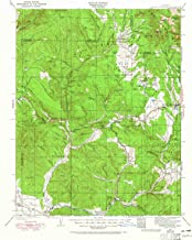 YellowMaps Pagosa Springs CO topo map, 1:125000 Scale, 30 X 30 Minute, Historical, 1924, Updated 1965, 20.8 x 17.1 in