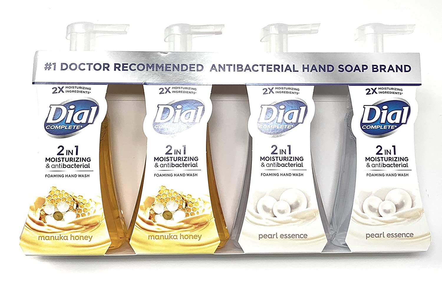 Dial Complete 2 in 1 Antibacterial Hand Foaming Opening New mail order large release sale and Moisturizing
