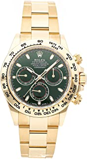 Rolex Daytona Mechanical (Automatic) Green Dial Mens Watch 116508 (Certified Pre-Owned)