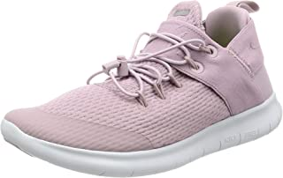 Women's Free RN Commuter 2017 Running Shoe, Plum Fog/Sunset Glow-Pure Platinum