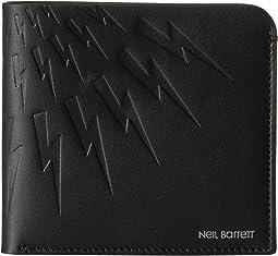 Neil Barrett - Embossed Thunderbolt Wallet
