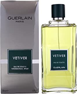 Vetiver Guerlain by Guerlain for Men Eau De Toilette Spray, 6.7 Fluid Ounce ( Pack May Vary )
