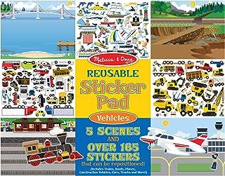 Best Melissa & Doug Reusable Sticker Pad - Vehicles Review