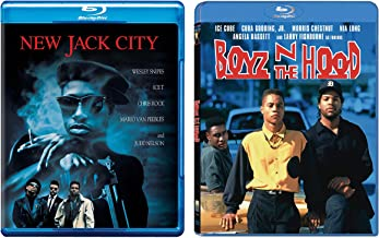 Hood Classics John Singleton Vs. Mario Van Peebles: New Jack City (Blu-Ray) + Boyz N The Hood (Blu-Ray) Bundle