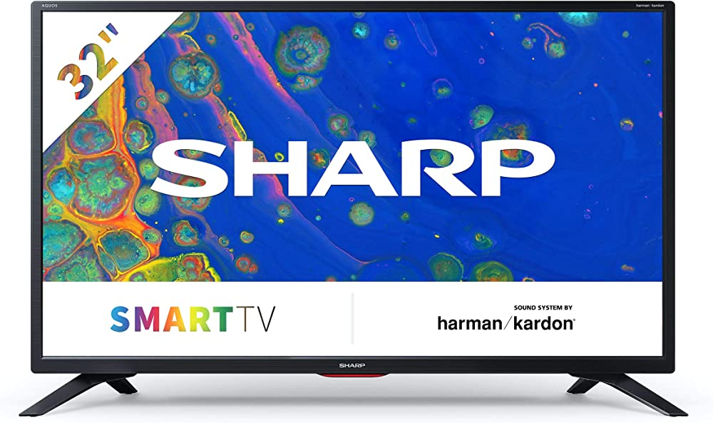 Sharp aquos, smart tv hd ready led tv, wi-fi, dvb-t2/s2, 32 pollici, 3xhdmi 2xusb, 2021 32BC6E