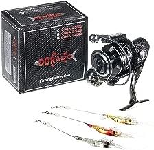 Dorado Cuda II Spinning Reel - Aluminum Alloy - 12 + 1 Ball Bearings - Smooth Casting - Ultra Light Weight - Double Bearing - Bonus 3 Shrimp Lures!!