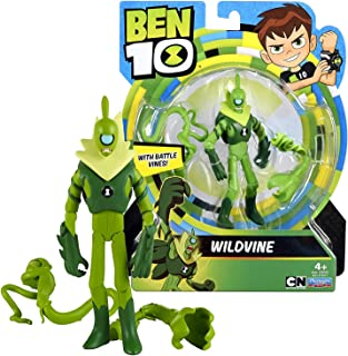 Ben 10 Cartoon Network Year 2017 Series 5 Inch Tall Figure - WILDVINE with Battle Vines