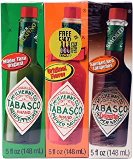 Tabasco Multipack Hot Sauces (5 oz. bottles, 3 pk.)